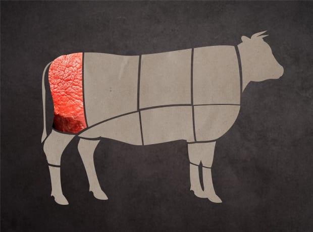牛肉集合部位-後腿部