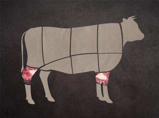 牛肉集合部位-腱子部