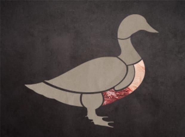 鴨肉集合部位-胸部