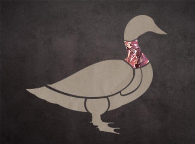 鴨肉集合部位-脖子